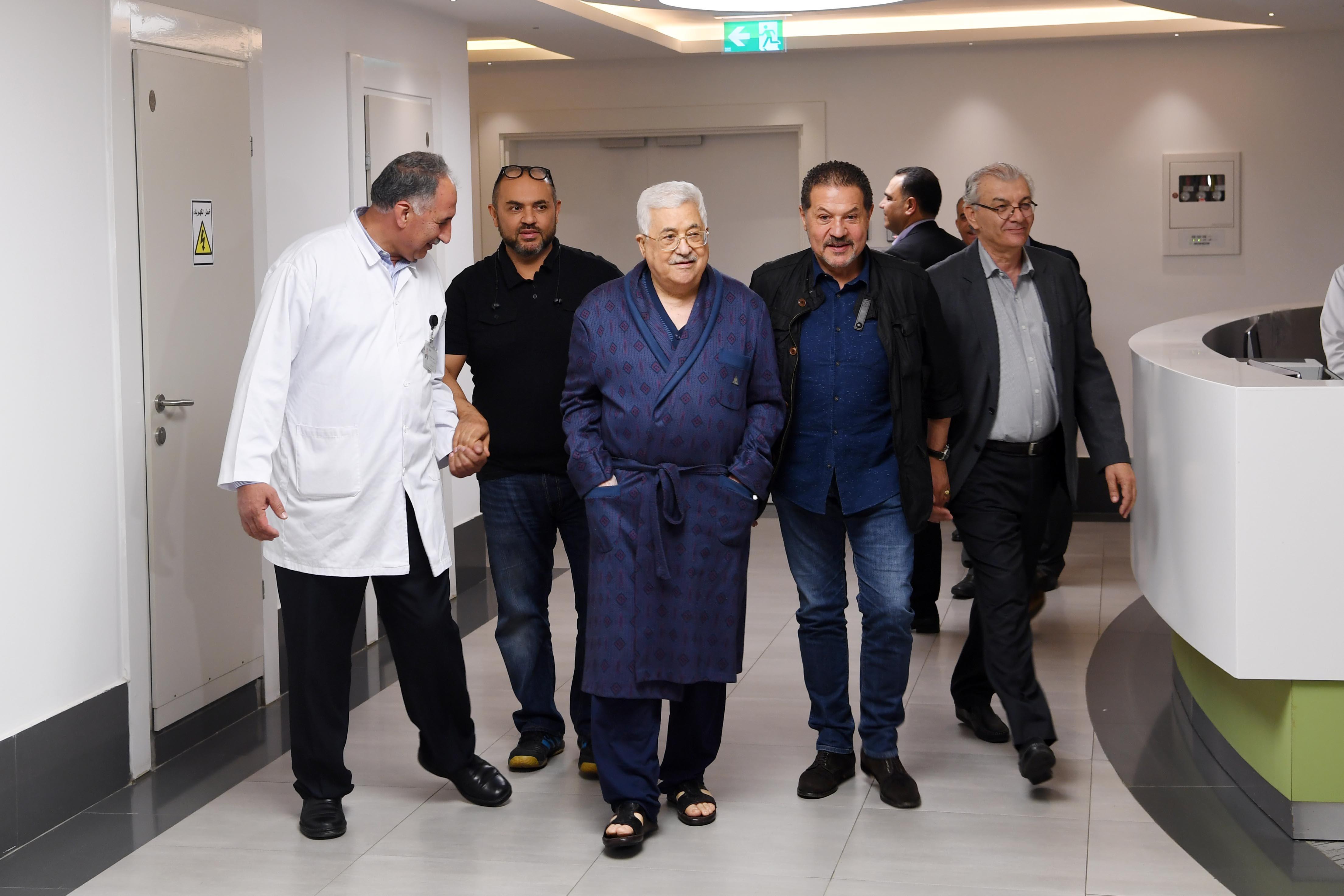 تأجيل خروج الرئيس عباس من المستشفى