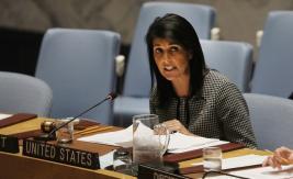 مندوبة أمريكا في مجلس الأمن