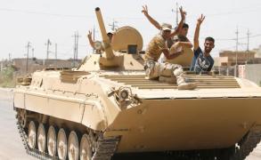 الجيش العراقي يواصل التقدم بالفلوجة ومعارك قرب الرمادي