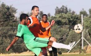 جانب من أحد مباريات كأس غزة