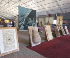 وزارة الثقافة بغزة تفتتح معرض