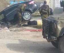 مستوطن يدعس فلسطينية جنوب نابلس .. وشهيد في القدس