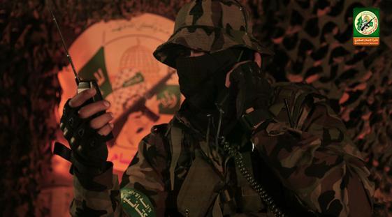 صورة نشرها القسام لسلاح الاشارة