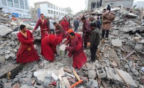 زلزال قوي يضرب غربي الصين