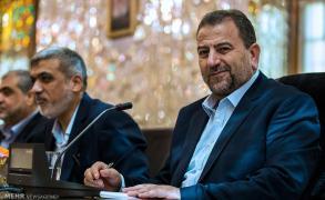 العاروري: وجودنا في طهران رفض عملي لشروط الاحتلال