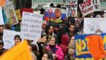 مظاهرات مناهضة لترمب