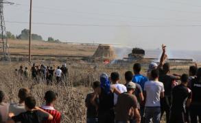 إصابتان برصاص الاحتلال شرق غزة