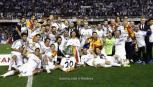 جانب من تتويج سابق لريال مدريد بكأس إسبانيا