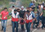 إصابات خلال مواجهات على حدود غزة