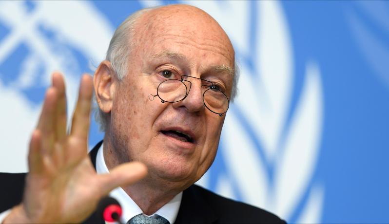 مبعوث الأمم المتحدة الخاص إلى سوريا ستفان دي ميستورا
