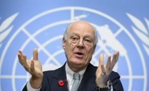 دي ميستورا يستبعد انفراجا لأزمة سوريا بجنيف