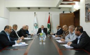 حماس: اللقاءات مع المسؤولين المصريين تسير بإيجابية