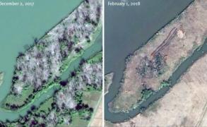 ميانمار تجرف 55 قرية مسلمة في أراكان