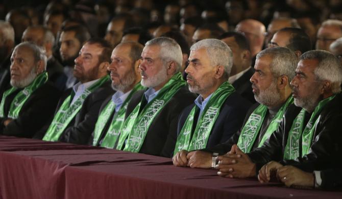 حماس تنظم حفل تأبين للشهيد مازن فقهاء في غزة