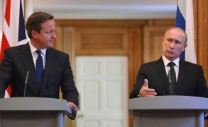 كاميرون وبوتين يؤيدان إعادة محادثات السلام بشأن سوريا