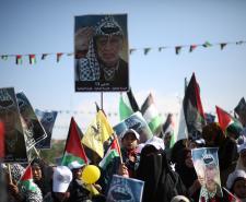 مهرجان المصالحة المجتمعية  في ذكرى وفاة ياسر عرفات (تصوير/عمر الإفرنجي)