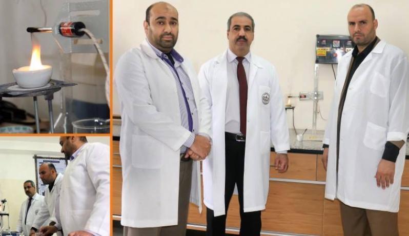 الباحثون من جامعة الإسراء بغزة
