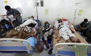 قافلة سعودية لعلاج المصابين بالكوليرا في اليمن
