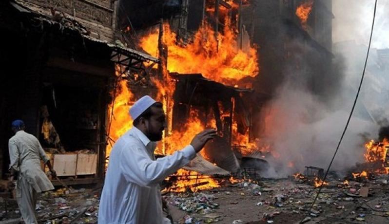 انفجار بباكستان سابق