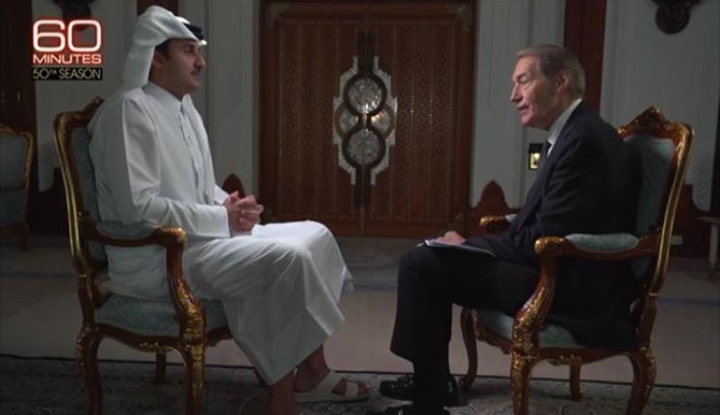 تميم شدد على محورية الجزيرة في دعم حرية التعبير وأكد انحياز قطر لمطالب الشعوب العربية