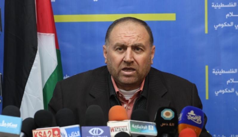 رئيس سلطة المياه في قطاع غزة المهندس ياسر الشنطي