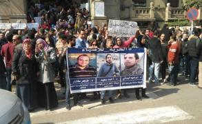 أطباء مصر يتظاهرون ضد اعتداءات الشرطة