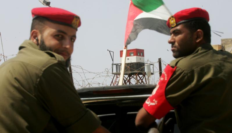 الحدود المصرية الفلسطينية (الأرشيف)