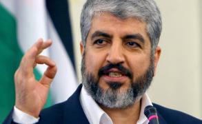 مشعل ينتقد المتواطئين في المنطقة مع مشاريع تصفية القضية الفلسطينية