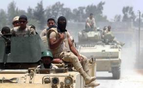 مقتل وإصابة 44 مسلحا شمالي سيناء