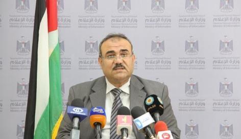 ناجي سرحان وكيل وزارة الأشغال بغزة