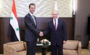 بوتين يستقبل الأسد في سوتشي