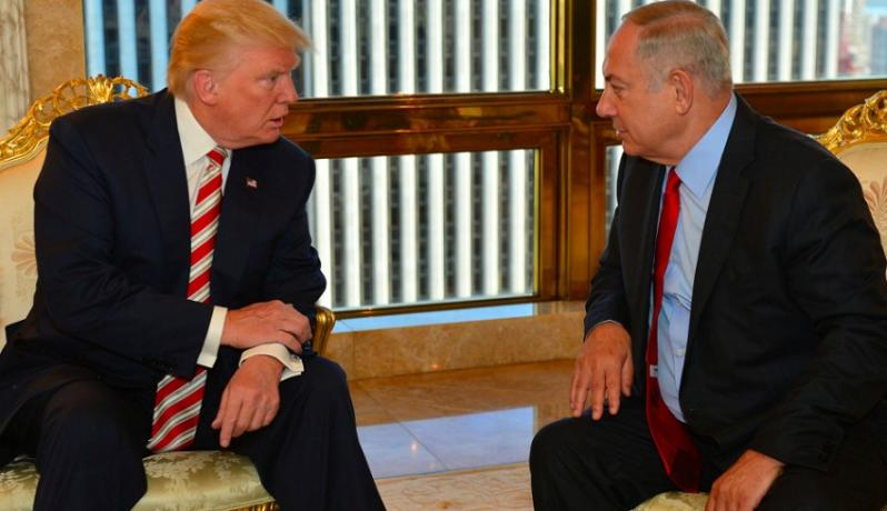 لقاء يجمع بين نتنياهو وترمب