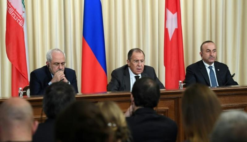 اتهم المركز الإيراني روسيا بالتحالف مع تركيا لإضعاف إيران- أ ف ب