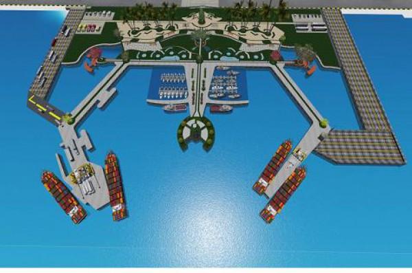 صورة للميناء