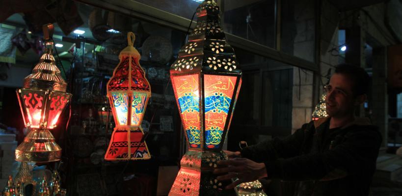 أجواء شهر رمضان المبارك في مدينتي بيت لحم والخليل بالضفة
