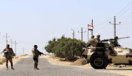 قتلى وجرحى من الجيش المصري بسيناء