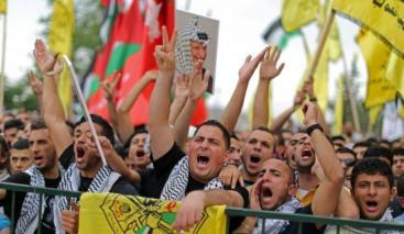 مؤيدون لحركة فتح (الأرشيف)