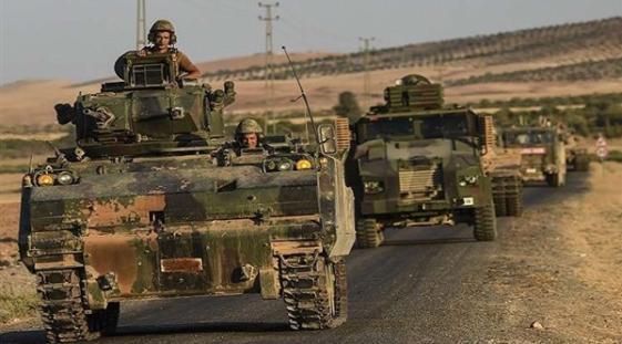 القوات التركية في عفرين