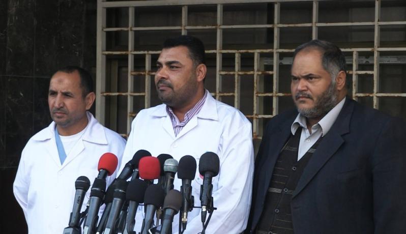 الدكتور أشرف القدرة المتحدث باسم وزارة الصحة بغزة