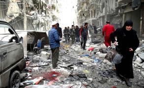 برلين وباريس تطالبان بوقف الهجمات على الغوطة