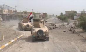 القوات العراقية تحاول استعادة آخر أحياء الفلوجة