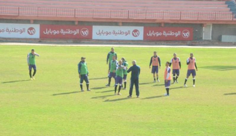 جانب من أحد دورات الاتحاد الفلسطيني لكرة القدم