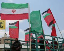 جانب من فعالية للجبهة الشعبية رفضا لزيارة ترامب وتوصيف حماس بالارهابية (صفا)