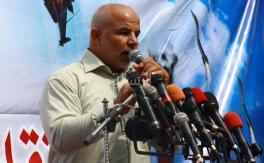 حماس تنظم وقفة تضامنية مع الأسرى بغزة