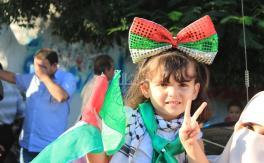 غزة تحتفل بالإنتصار بحضور هنية