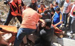 إستهداف (إسرائيلي) لمنزل عائلة الدلو بغزة