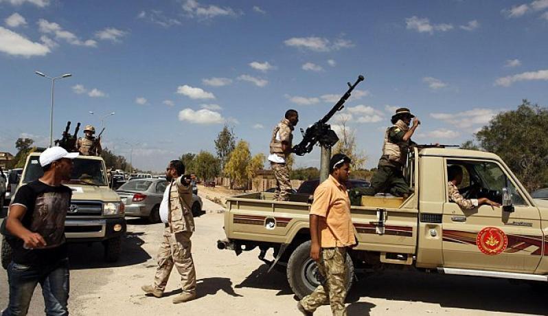 قوات مسلحة في بنغازي (أرشيف)