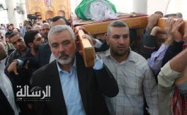 تشييع جثمان الشيخ المؤسس أبو أيمن طه