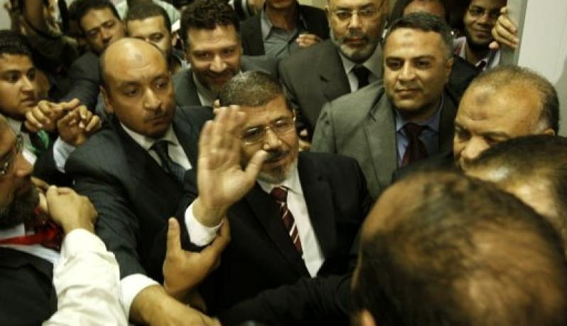 الرئيس المصري محمد مرسى