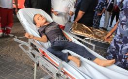 شهداء وجرحى العدوان (الإسرائيلي) في اليوم الـ 46